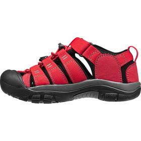 Keen Newport H2 Chaussures Enfant, Ribbon Red/Gargoyle